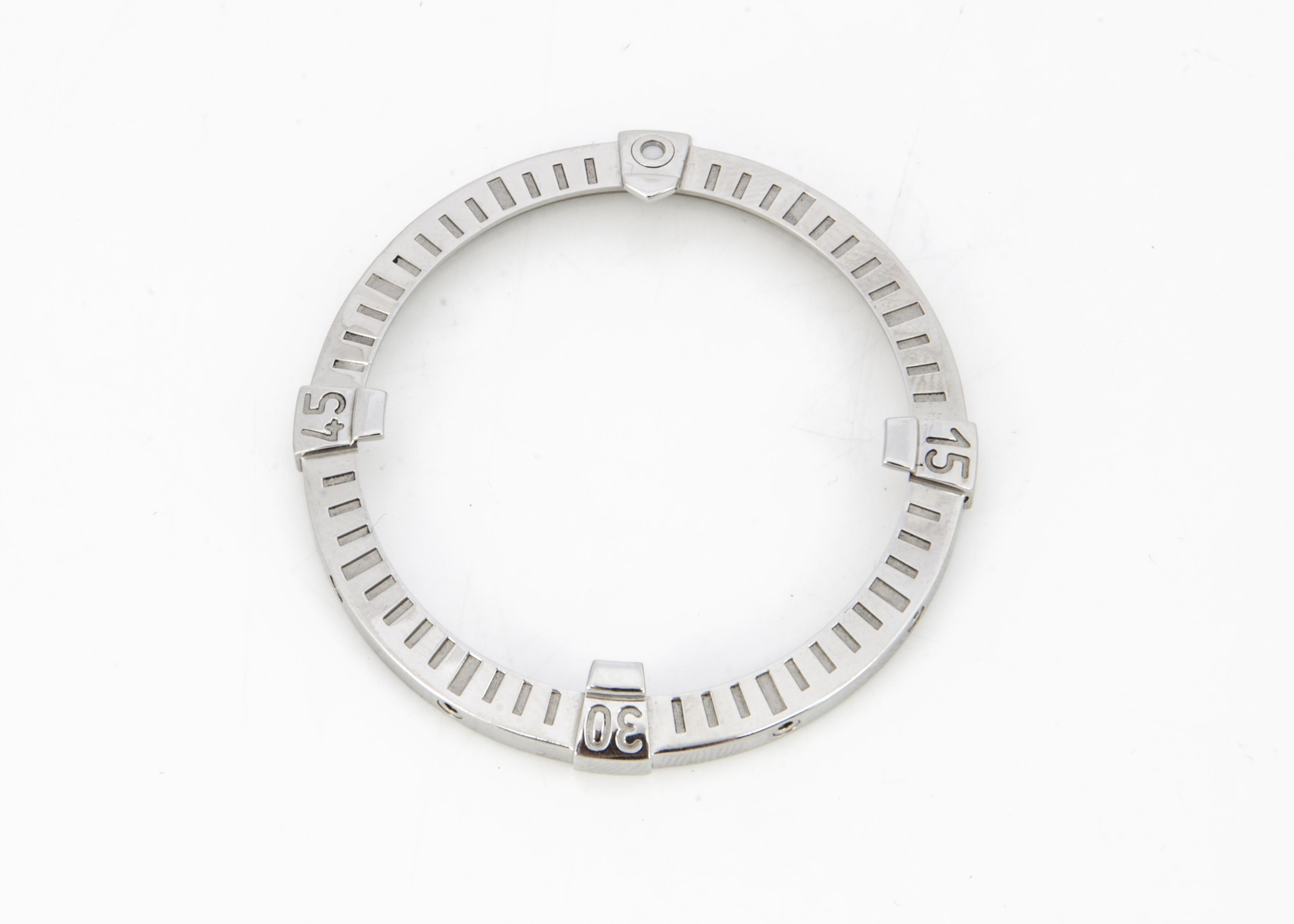 A modern Breitling stainless steel bezel, 46mm