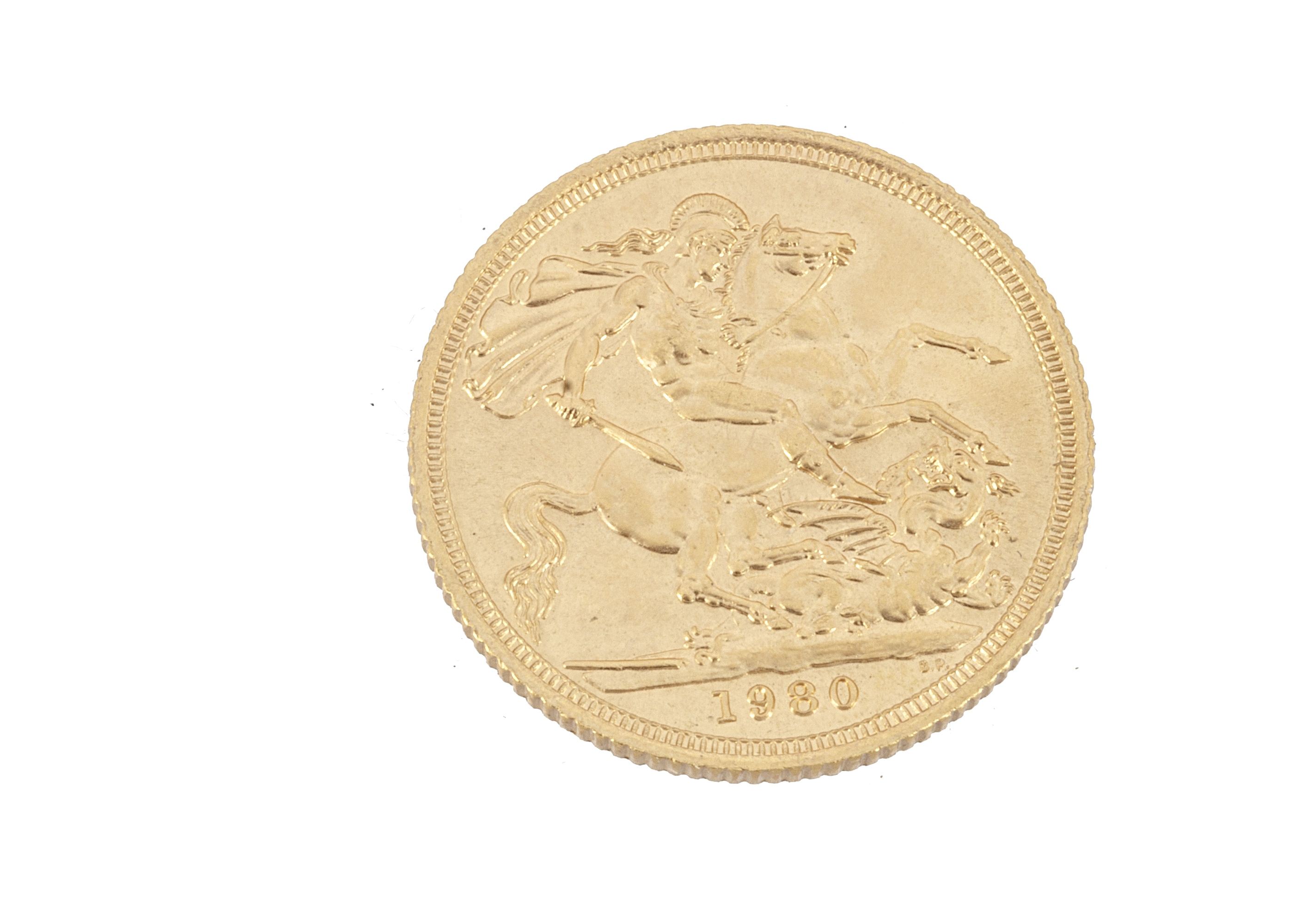 An Elizabeth II full gold sovereign, dated 1980, EF