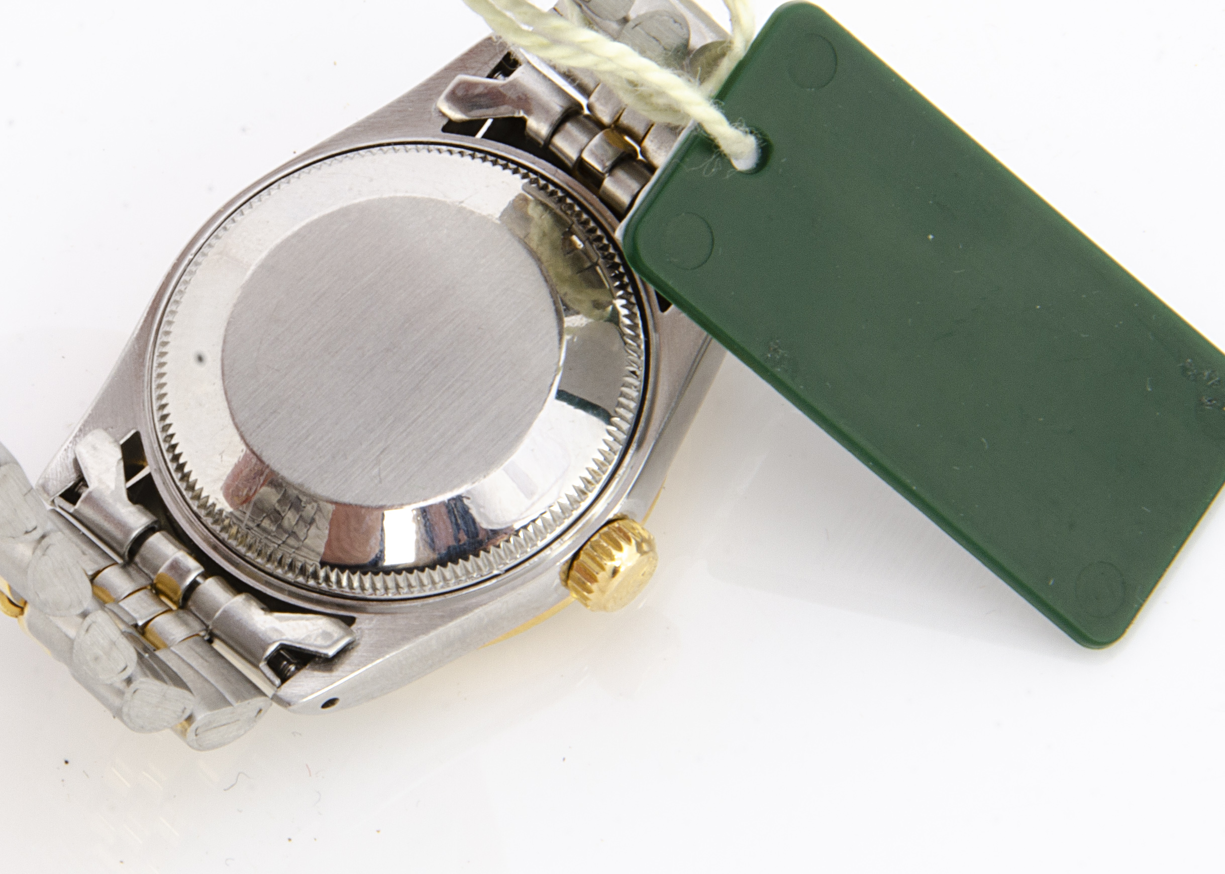 A 1990s Rolex Oyster Perpetual Datejust Bi-metal lady's mid-sized wristwatch, 29mm, ref. 68273, gilt - Image 2 of 2