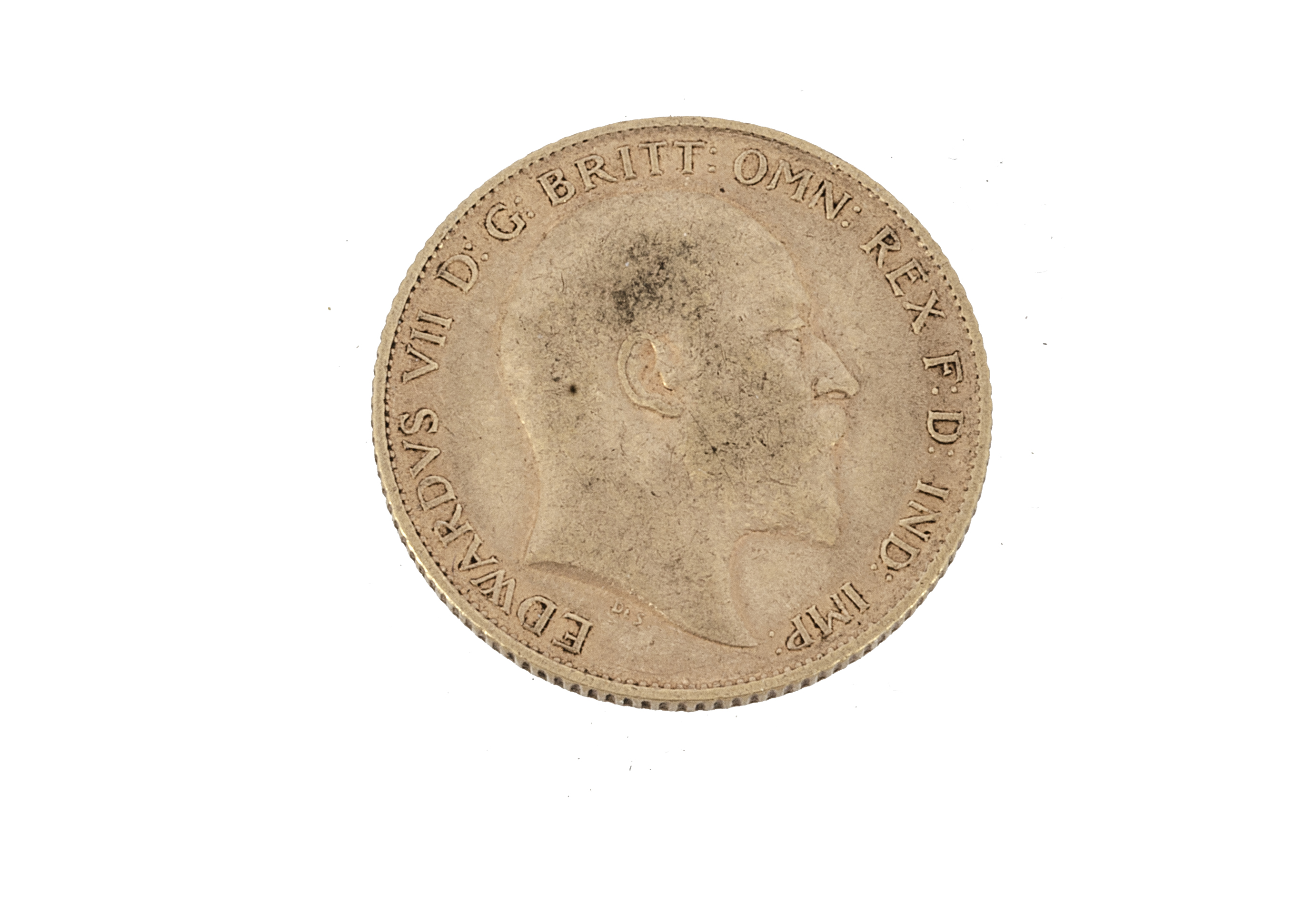 An Edward VII half gold sovereign, dated 1907, VF - Image 2 of 2