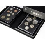Two modern Royal Mint UK proof coin sets, one 2018, the other 2017 Collector Edition (2)
