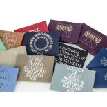 A collection of 37 modern Royal Mint UK Coinage of Great Britain & Northern Island and Brilliant
