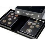 Two modern Royal Mint UK proof coin set Collector Edition sets, dated 2019 and 2020 (2)