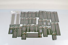 A collection of KATO Unitrack, all on original card backs (34)