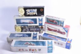 Corgi Diecast American Commercial Vehicles, a boxed collection includes Premier Models 52306 Mack
