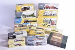 Corgi Classics Diecast Haulage and Construction Vehicles, a boxed collection of vintage vehicles,