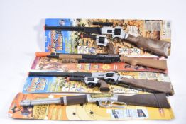 Wild West Toy Rifles Guns and Leather Cowboy Holsters and Belts, Rifles, Kingswood Master