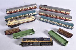 Fleischmann European and Atlas Mantua and Bachmann American Outline HO Gauge Locomotives and Rolling