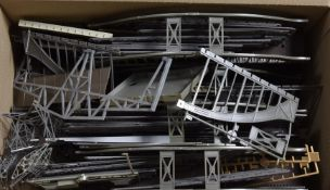 A large quantity of Continental-style HO gauge Buildings Stations and Viaducts, the majority by