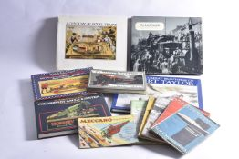 Various Toy and Model Trains and other Transport Catalogues and Collectors Books, reprint Bassett-