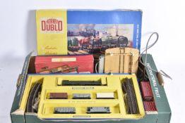 Hornby Dublo 00 Gauge 2-Rail 2030 Good Train Set and Accessories, Set comprising BR green Bo Bo
