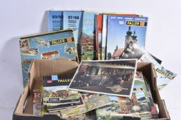 Very large quantity HO Gauge Catalogues Instruction Booklets and other books including American H0