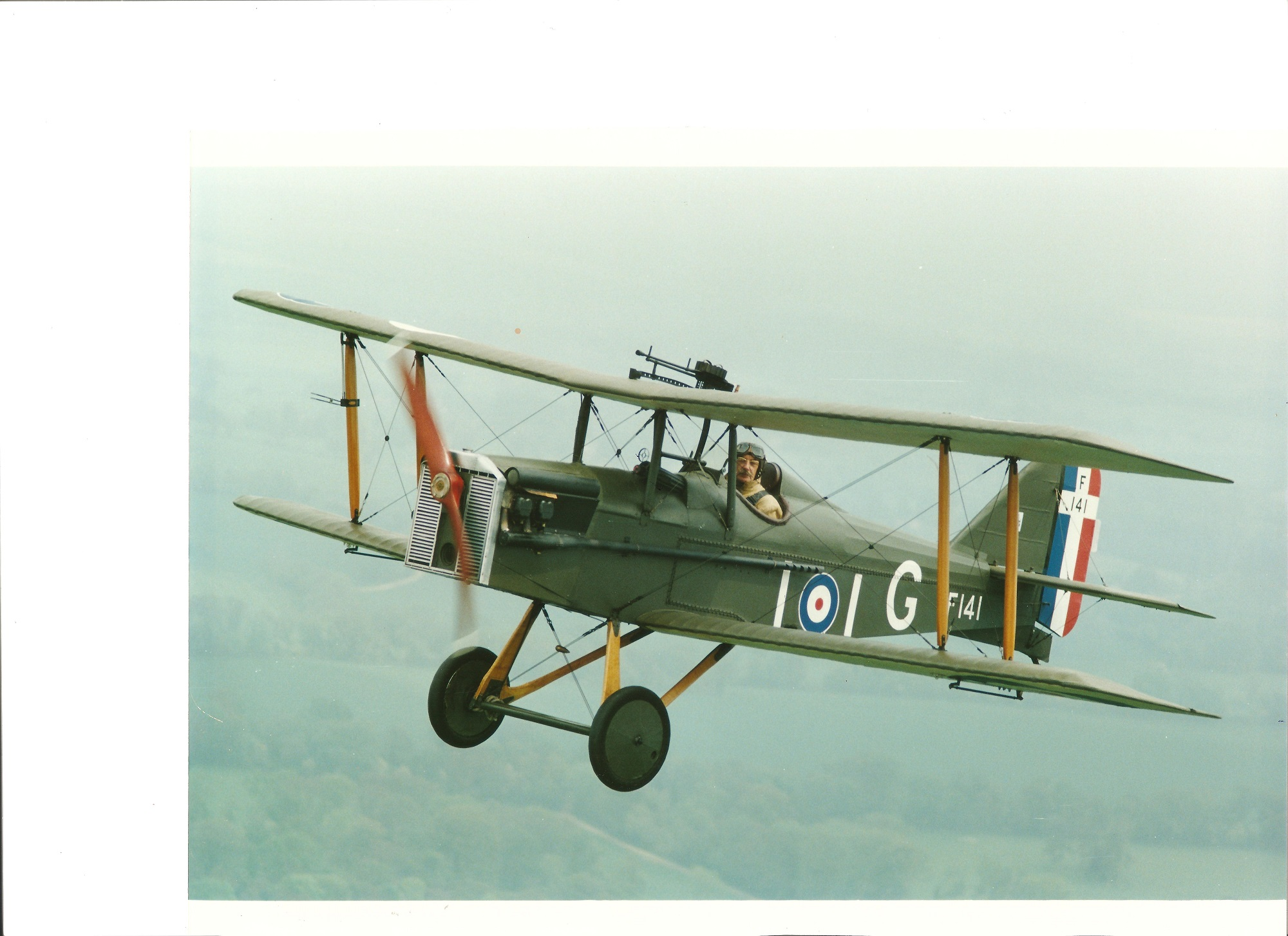 Ivan Douglas Gregory DFC, (1923-2015) WWII Ace and Britain's Oldest Stunt pilot, during WWII he - Image 4 of 5