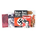 A large collection of WWII Germany related books and VHS tapes, to include The Secret Life of