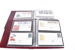 Eighteen Albums of Royal Mail First Day covers, the collection of various dates, covering numerous