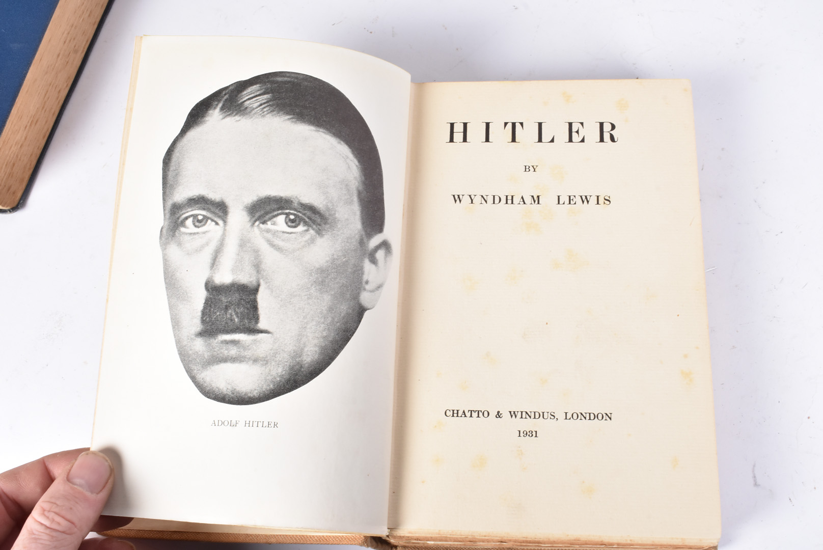 A group of five Hitler related books, to include Mein Kampf by Hurst and Blackett 1939, Hitler by - Image 5 of 10