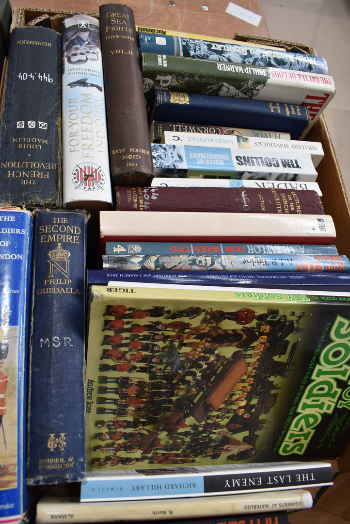 An assortment of military related fiction and non-fiction books, covering a variety of eras and - Image 3 of 3