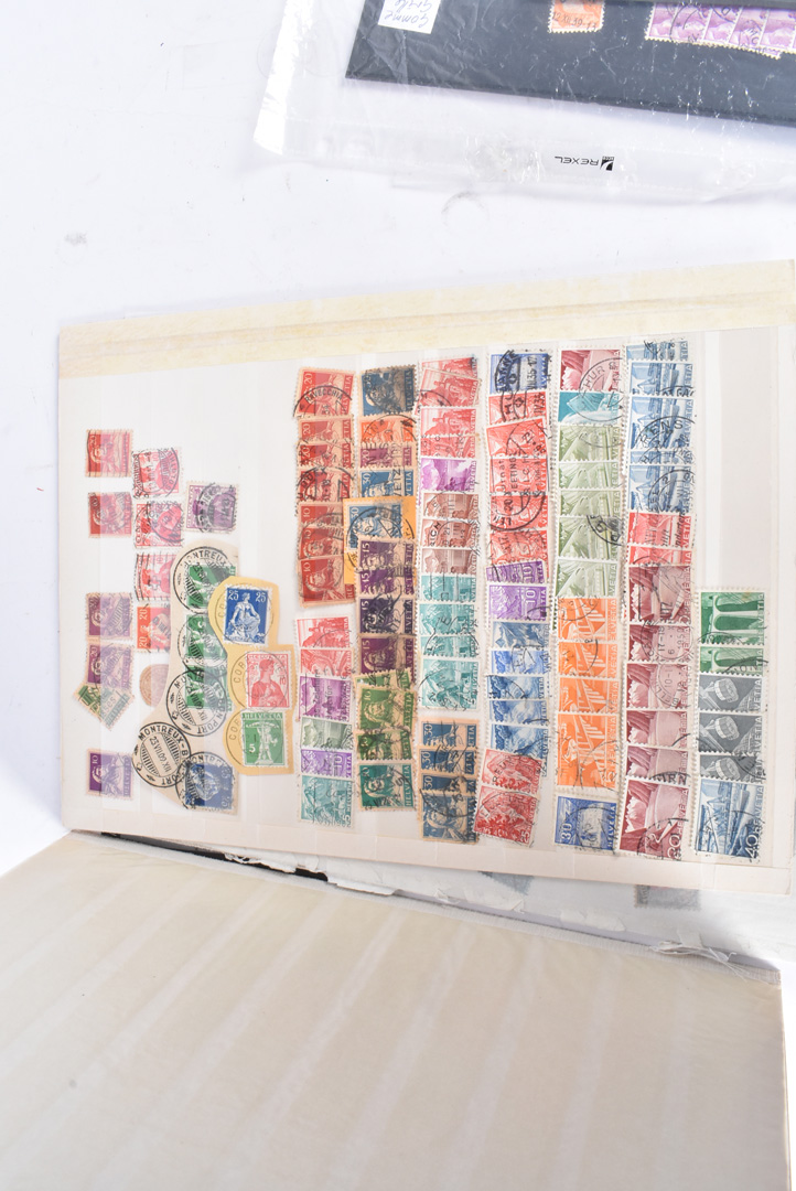 A collection of World stamps, on boards, loose and on envelopes, Late 20th Century and modern (qty) - Image 2 of 5