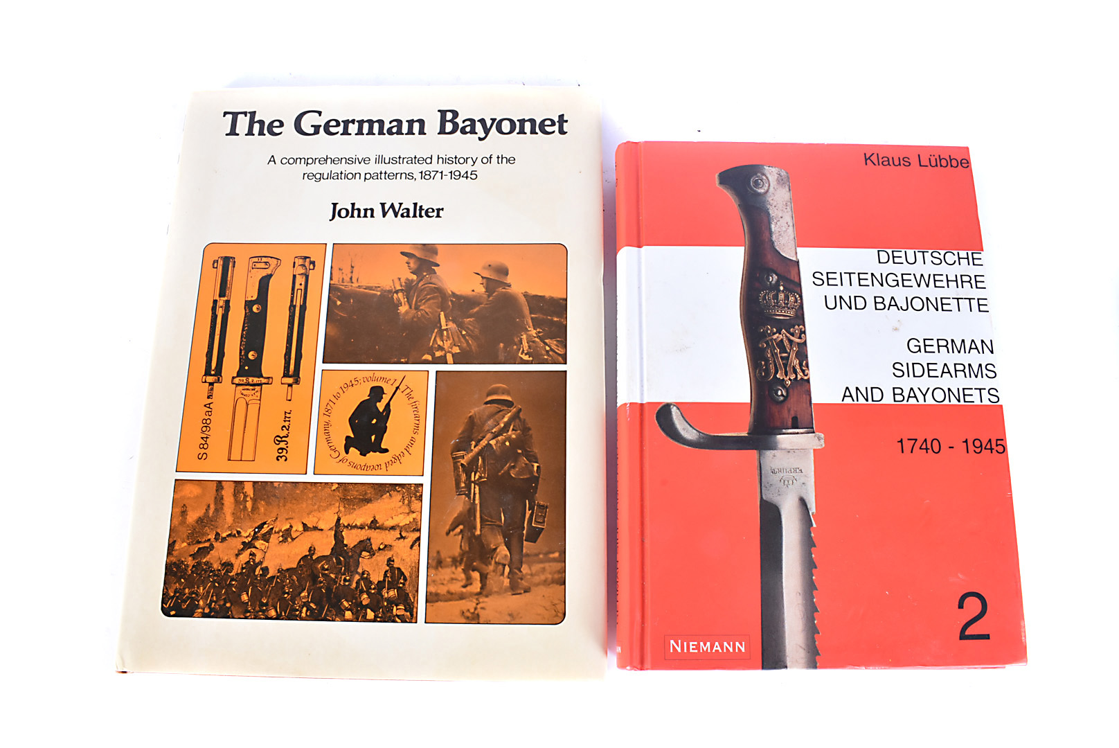 The German Bayonet, A comprehensive illustrated history of the regulation patterns, 1871-1945 by
