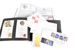 A collection of Royal Mail First Day Covers, to include Kings and Queens of England in book, a few