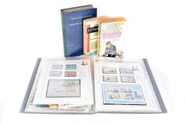 A large collection of Churchill related items, to include books, stamps, first day covers, vhs tape,