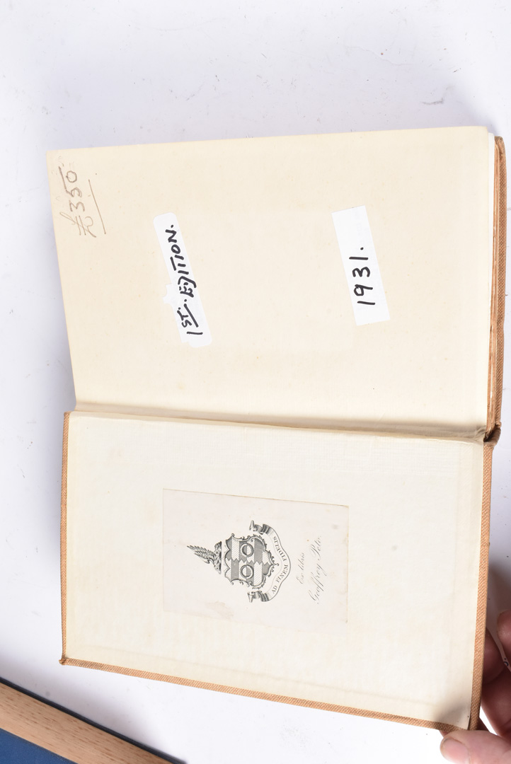 A group of five Hitler related books, to include Mein Kampf by Hurst and Blackett 1939, Hitler by - Image 4 of 10