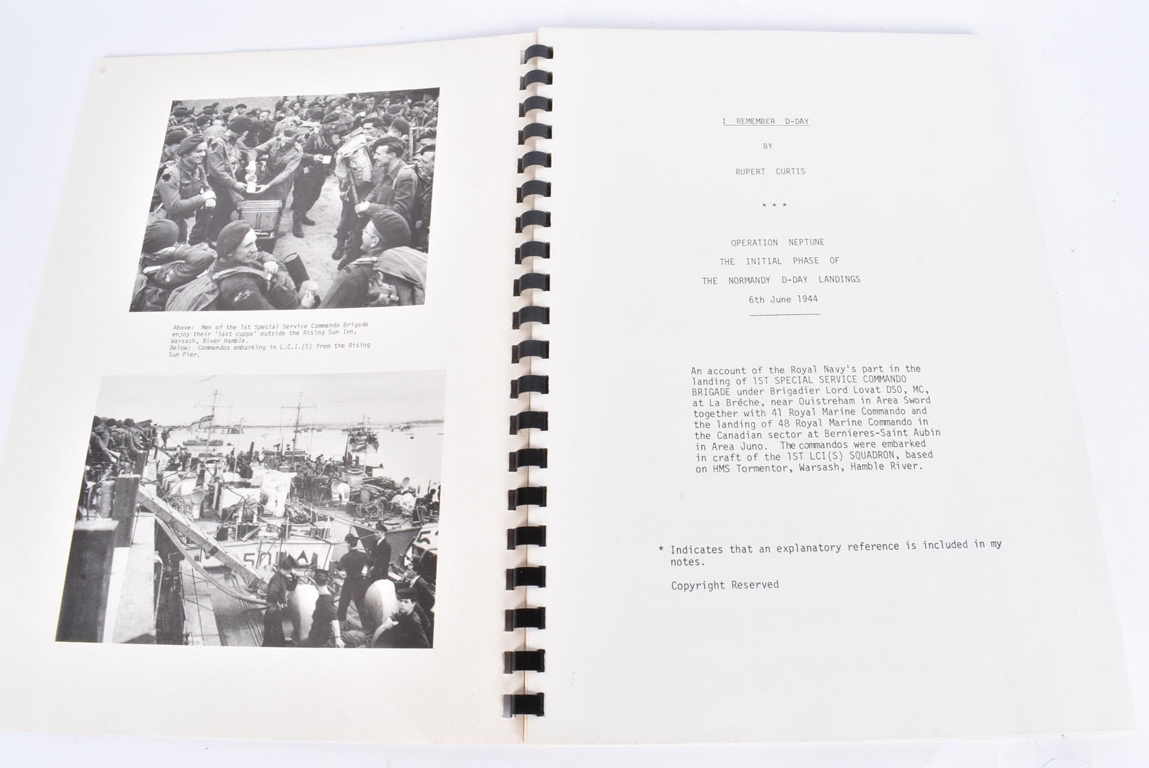 Chronicles of D-Day by Rupert Curtis, I Remember D-Day, Operation Neptune, The Initial Phase of - Image 3 of 3