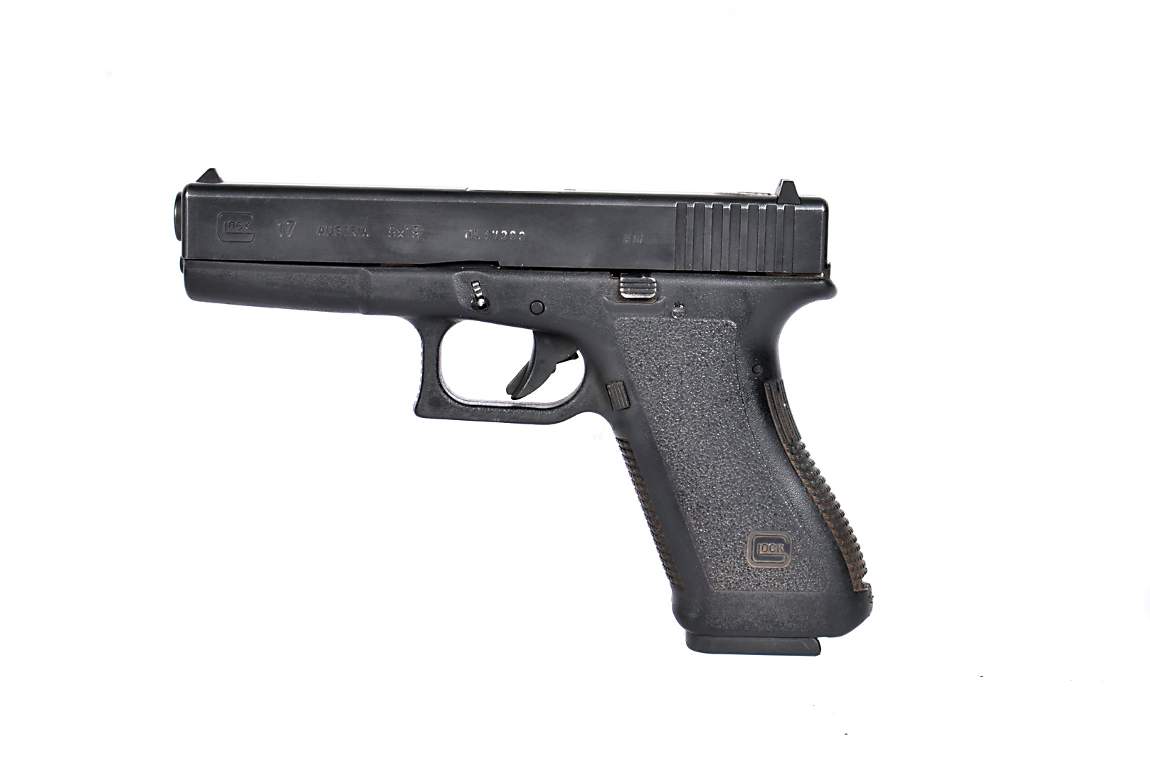 A Deactivated Glock 17 9mm Second Generation pistol, serial NL17203, deactivated to the latest EU