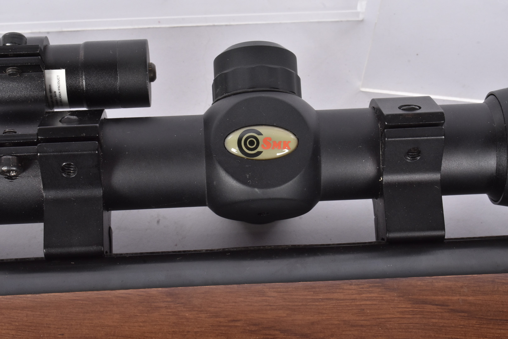 An SMK XS-B20 .22 air rifle, serial 0300527, with break barrel action, complete with SMK 3-9x40 - Image 4 of 7