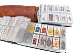 Cigarette Cards and Trade Card Sets and Part Sets, various examples and subjects includes Players,
