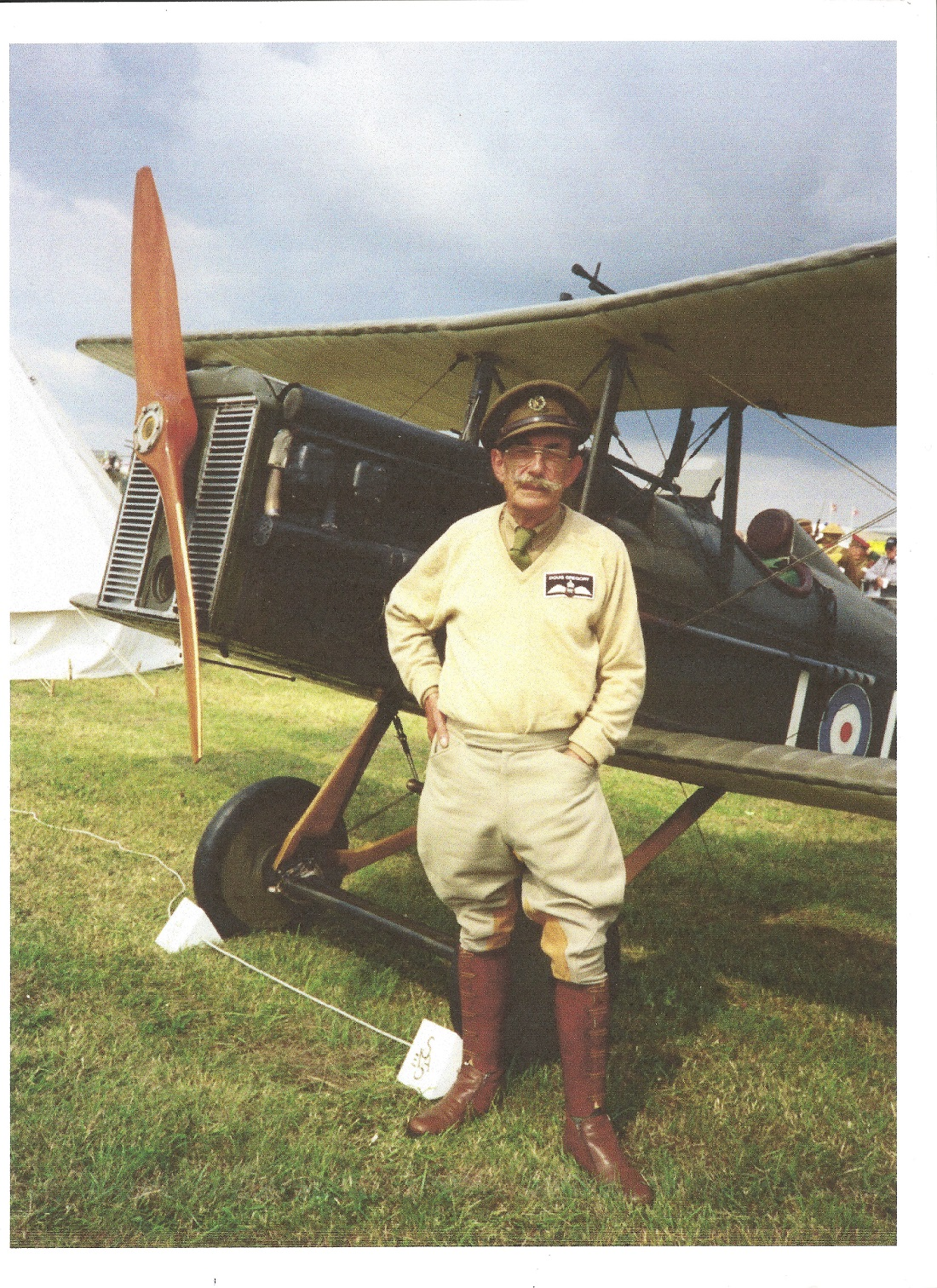 Ivan Douglas Gregory DFC, (1923-2015) WWII Ace and Britain's Oldest Stunt pilot, during WWII he - Image 2 of 5