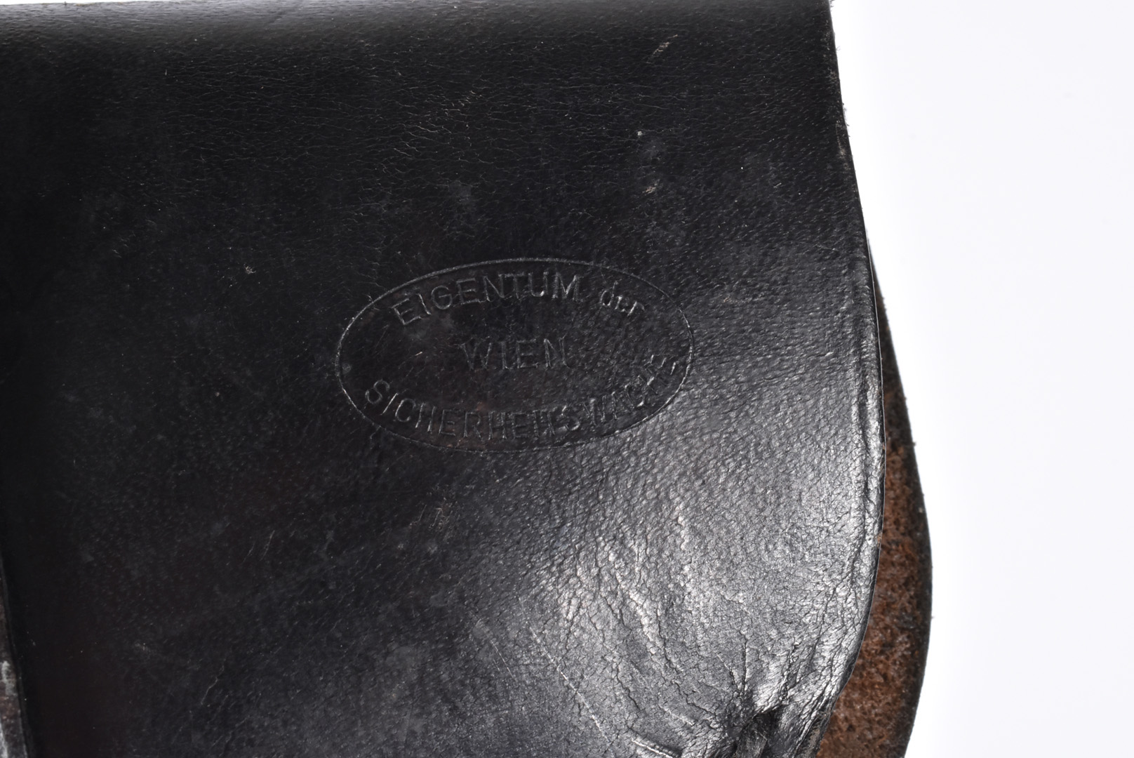 A Hitler Youth holster, having eagle and swastika stamp to the front, maker stamp to the reverse ' - Image 3 of 5