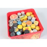 A Selction of 35mm film canisters, mostly circa 1930/40's, manufacturs include Kodak, Agfa,