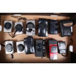 Canon 35mm Film Compacts, Ixus (2), Ixus Z-70 (2), Ixus L-1 (1), A35F (1) and others (5), good,