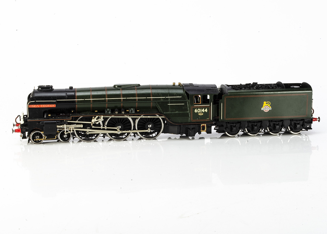 A Finescale 0 Gauge ex-LNER A1 class Locomotive 'King's Courier' and Tender from DJH kit, the
