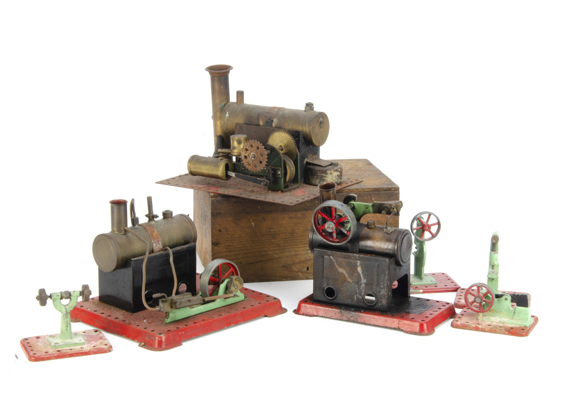 Bowman and Mamod live steam Stationary Engines and Accessories, a Bowman model M135 single-