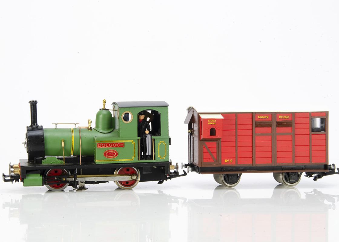 Scratchbuilt/Kitbuilt modified G Gauge Talyllyn Railway G Fletcher Jennings 0-4-0 Tank Locomotive