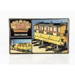 "A boxed Hornby 3½"" Gauge Stephenson's 'Rocket' G104 Coach, in original box, VG-E, very slight damp"