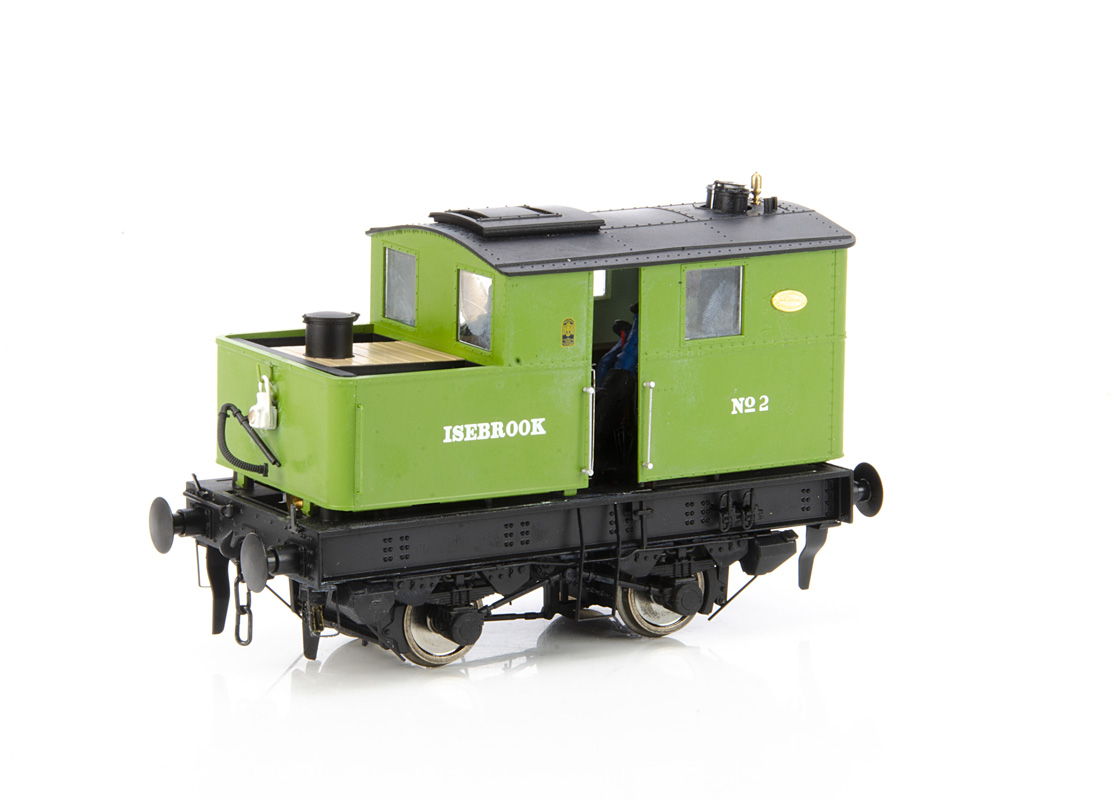 A Finescale 0 Gauge Sentinel geared Y1/Y3 class Industrial 0-4-0 Shunting Locomotive by Dapol, cat