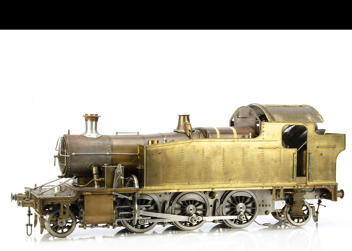 """A substantially-completed 3½"""" Gauge GWR 4575 class 2-6-2 Tank Locomotive and related items, built to"""