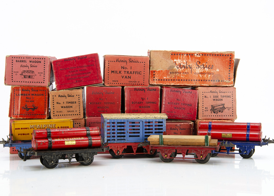 Hornby 0 Gauge 'generic' 4-wheeled Freight Stock, not allocated to any specific railway, including 3