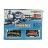 Bachmann Big Haulier G Gauge Train Set and REA Wagons, Lumber Jack set comprising Coal Creek