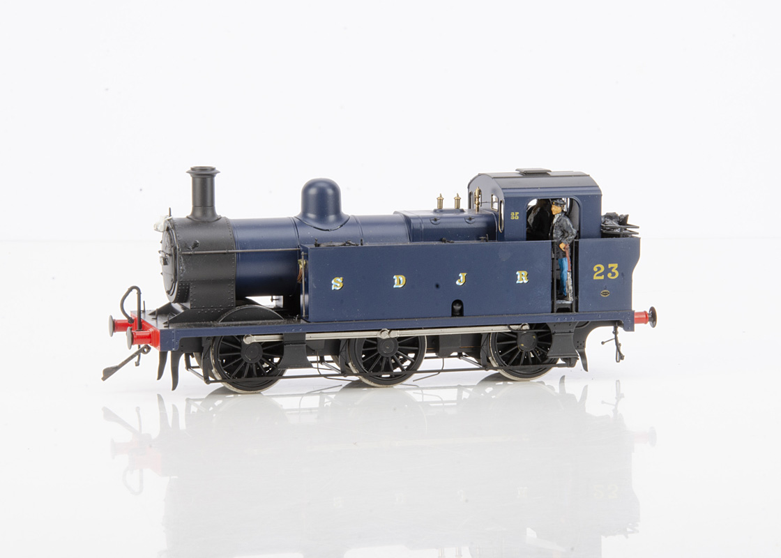 A Finescale 0 Gauge Fowler 3F 'Jinty' 0-6-0 Tank Locomotive by Dapol, cat ref 7S-026-003, finished