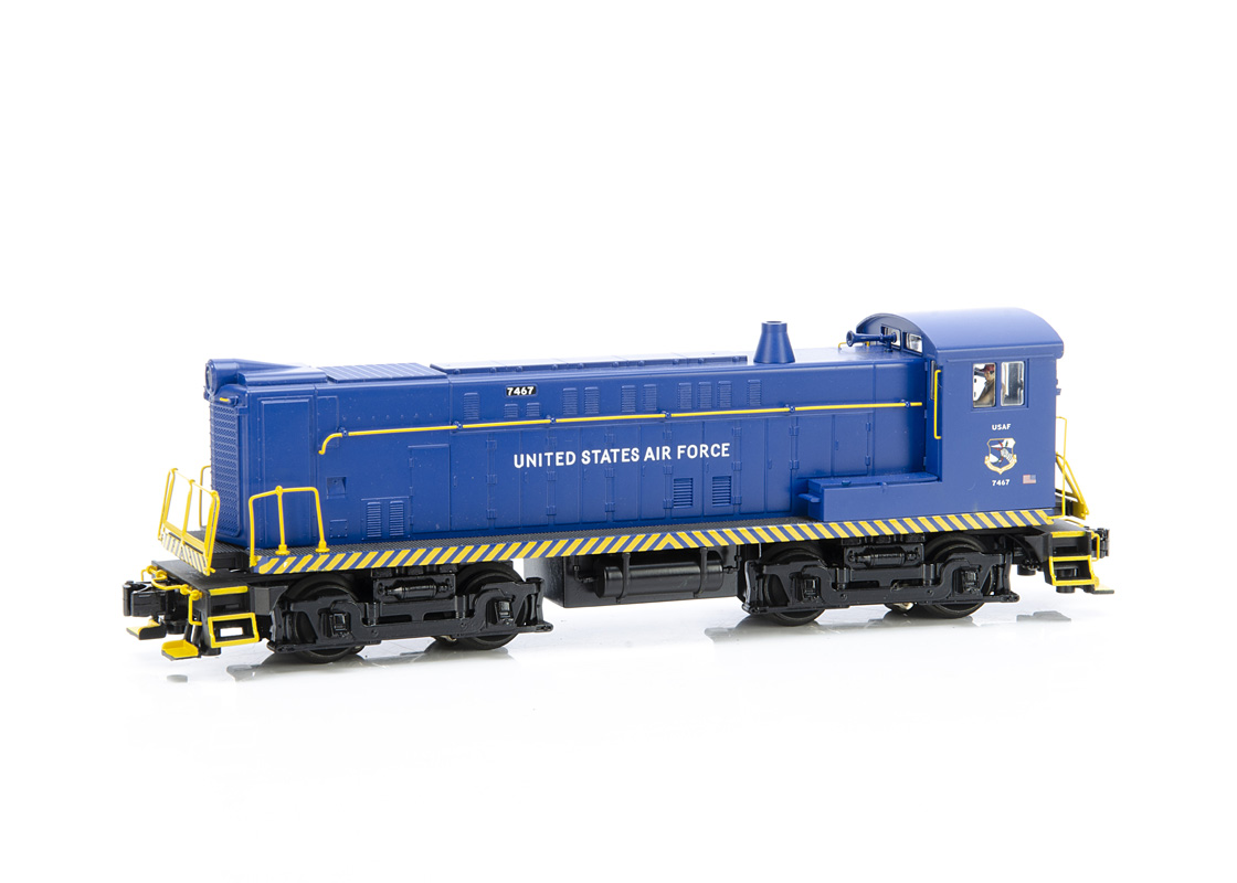 Rail King by MTH 0 Gauge 30-2642-1 VO 1000 Diesel Engine with Proto Sound, in Us Airforce Blue No