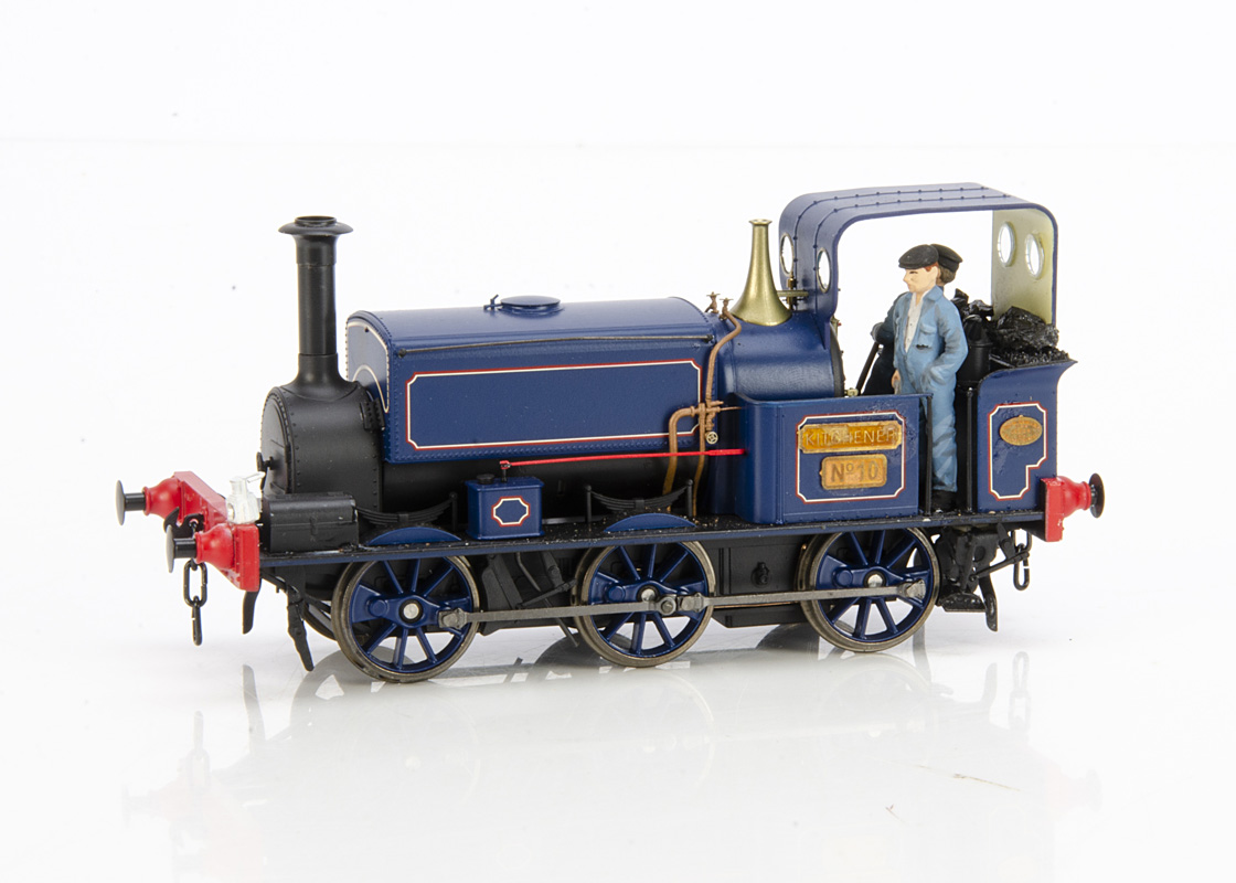 A Finescale 0 Gauge Manning Wardle Industrial 0-6-0 Saddle Tank Locomotive by Minerva Models, cat