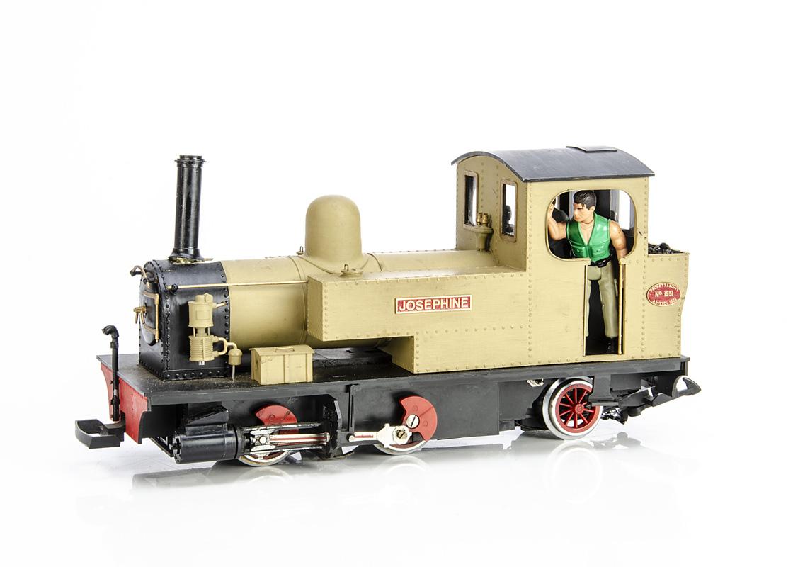 Kit/Scratchbuilt LGB G Gauge modified Peckett Isle of Man Railway style Railway 0-4-2 Tank