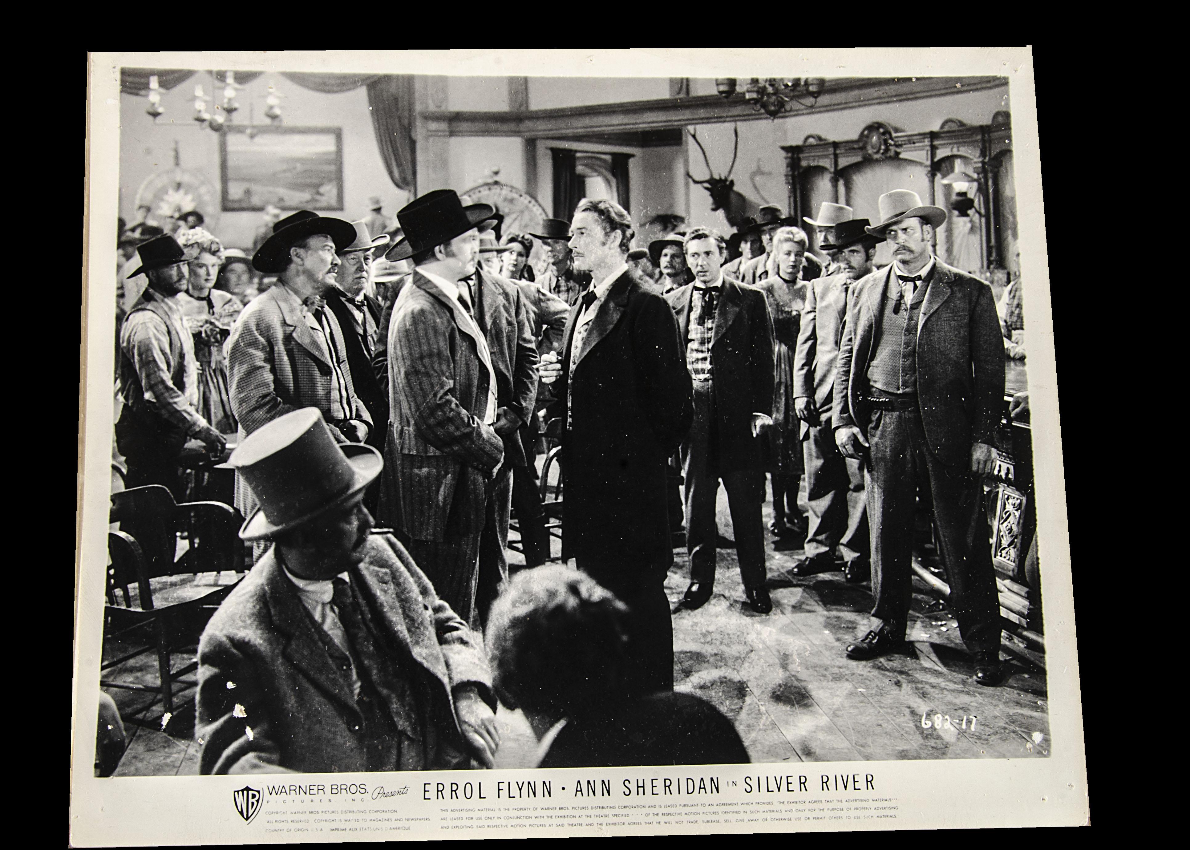 Errol Flynn Film Stills, approximately eighty b/w stills from Errol Flynn Western films that - Image 2 of 2