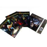 Iron Maiden Programmes, four tour programmes from the Blaze Bayley era comprising The X Factour,