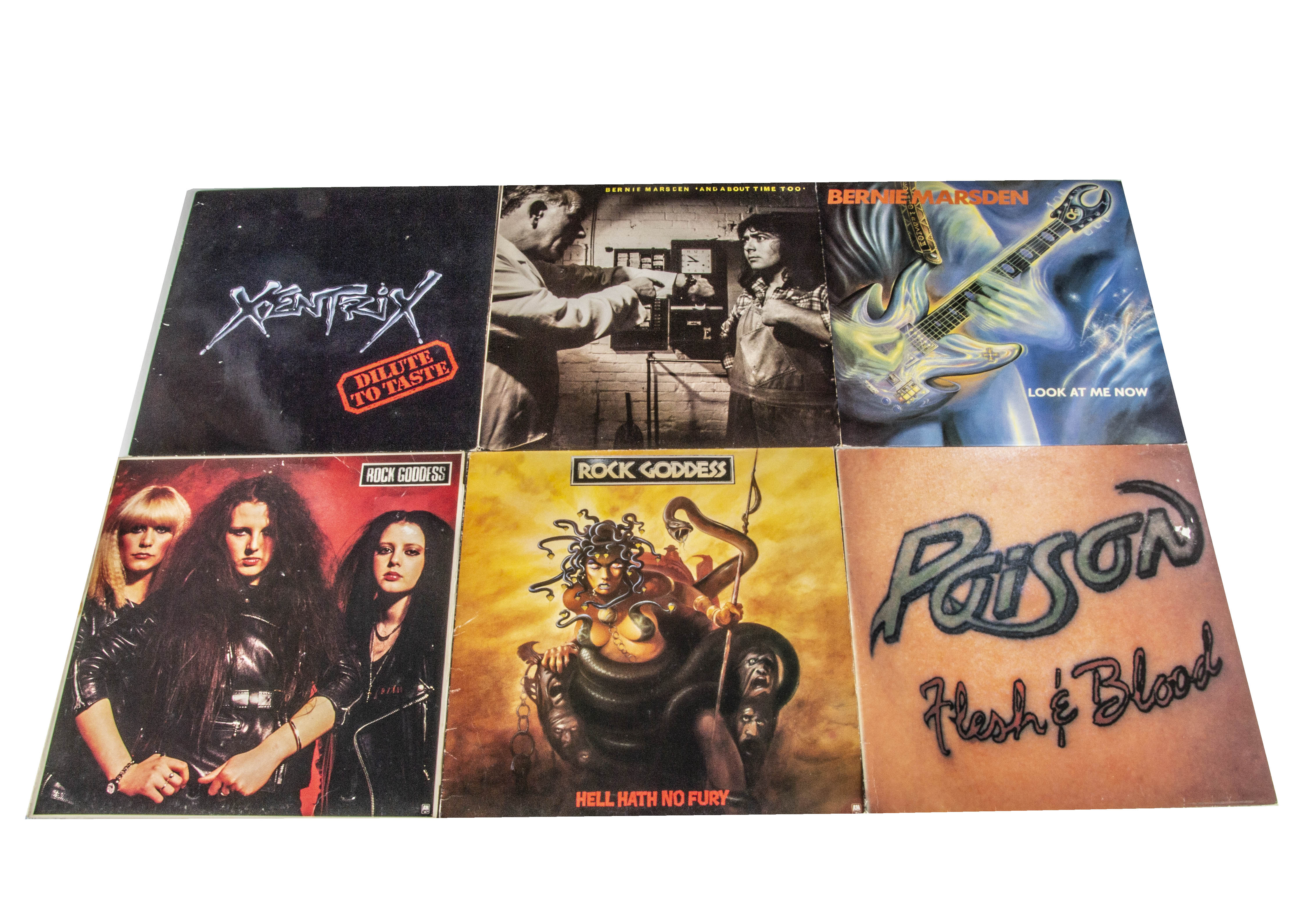 Rock / Metal LPs, approximately seventy albums of mainly Rock and Metal with artists including