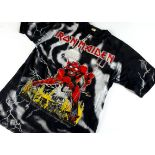 Iron Maiden Number of the Beast 'T' Shirt, Iron Maiden 'T' shirt - Number of the Beast all over